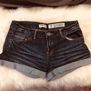 Indigo Rein   Denim Shorts